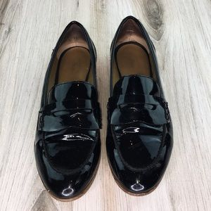 Bass Patent Leather Loafers